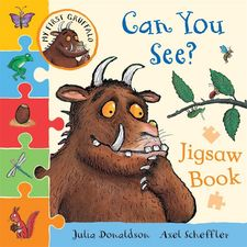 Donaldson and Scheffler: My First Gruffalo: Can You See? Jigsaw Book (Hardback)