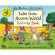 Donaldson and Scheffler: Tales From Acorn Wood Activity Book (Paperback)