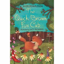 Julia Donaldson: The Quick Brown Fox Cub - Red Banana Series (Paperback)