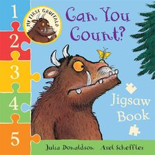 Donaldson and Scheffler: My First Gruffalo: Can You Count? Jigsaw Book (Board Book)