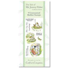 Mr. Jeremy Fisher: Beatrix Potter Stamp Set - Mr Jeremy Fisher