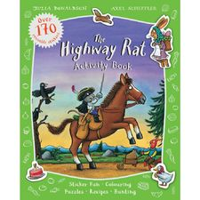 Donaldson and Scheffler: The Highway Rat Activity Book (Paperback)
