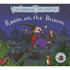 Donaldson and Scheffler: Room on the Broom (Paperback)
