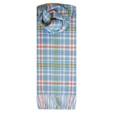 Peter Rabbit: Peter Rabbit Tartan Child Lambswool Scarf