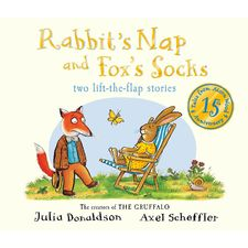 Donaldson and Scheffler: Tales from Acorn Wood: Fox's Socks and Rabbit's Nap 15th Anniversary Edition (Board Book)