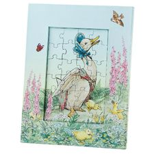 Jemima Puddle-duck: Jemima Puddle-duck 22cm Jigsaw and Photo Frame