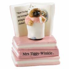 Mrs Tiggy-winkle: Mrs. Tiggy-Winkle 13.5cm Musical Figurine