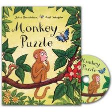 The Gruffalo: Monkey Puzzle (Paperback and CD)