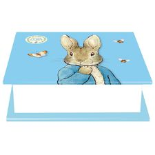 Peter Rabbit: Peter Rabbit Blue Square Memo Block