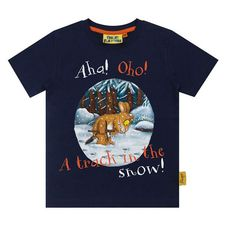 The Gruffalo: Gruffalo's Child Track In The Snow T-Shirt