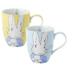 Peter Rabbit: Peter Rabbit Contemporary Mug (Set of 2)