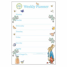 Peter Rabbit: Peter Rabbit Blue A4 Weekly Planner
