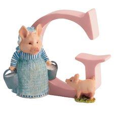 Aunt Pettitoes: Alphabet Letter G - Aunt Pettitoes