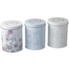Peter Rabbit: Peter Rabbit Contemporary Storage Tins (Set of 3)