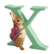 Benjamin Bunny: Alphabet Letter X - Old Mr. Benjamin Bunny