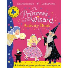 Julia Donaldson: The Princess and the Wizard Activity Book (Paperback)