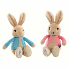 Peter Rabbit: Peter Rabbit & Flopsy Bunny Bean Rattles