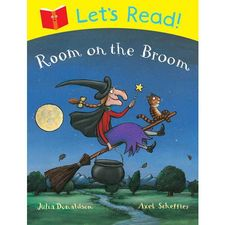 Donaldson and Scheffler: Lets Read! Room on the Broom (Paperback)