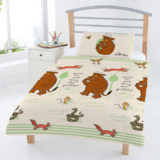 The Gruffalo: Gruffalo Woodland Scene Junior Duvet Set
