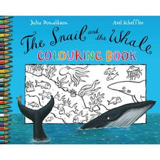 Donaldson and Scheffler: The Snail and the Whale Colouring Book (Paperback)