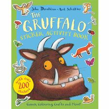 The Gruffalo: The Gruffalo Sticker Activity Book (Paperback)