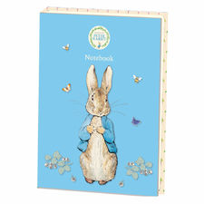 Peter Rabbit: Peter Rabbit Blue A4 Notebook