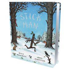 Donaldson and Scheffler: Stick Man Gift Edition (Board Book)