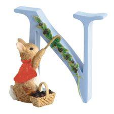 Cotton-tail: Alphabet Letter N - Cotton-tail