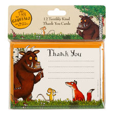 The Gruffalo: Gruffalo 12 Terribly Kind Thank You Cards