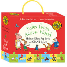 The Gruffalo: Tales from Acorn Wood Hide and Seek Pig Book and Jigsaw Set