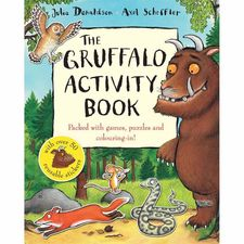 The Gruffalo: The Gruffalo Activity Book (Paperback)