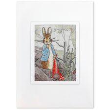 Peter Rabbit: Peter Rabbit Woven Card