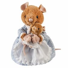 Hunca Munca: Hunca Munca and Baby 30cm Soft Toy (Large)