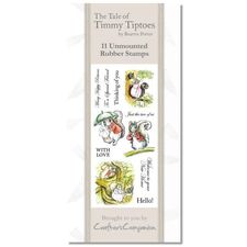 Beatrix Potter: Beatrix Potter Stamp Set - Timmy Tiptoes