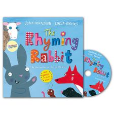 Julia Donaldson: The Rhyming Rabbit (Paperback and CD)