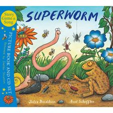 Donaldson and Scheffler: Superworm (Paperback and CD)