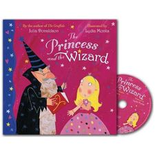 Julia Donaldson: The Princess and the Wizard (Paperback and CD)