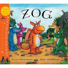 Zog: Zog (Paperback and CD)