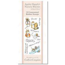Appley Dapply: Beatrix Potter Stamp Set - Appley Dapply's Nursery Rhymes