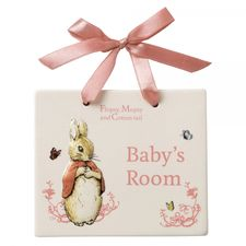 Flopsy Bunnies: Flopsy Door Plaque