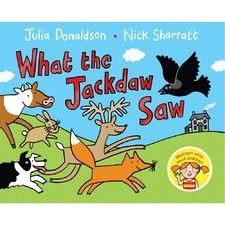 Julia Donaldson: What the Jackdaw Saw (Paperback)