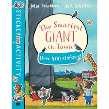 The Gruffalo: The Smartest Giant In Town Sticker Book (Paperback)