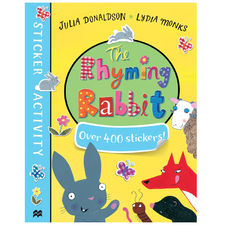 Julia Donaldson: The Rhyming Rabbit Sticker Book