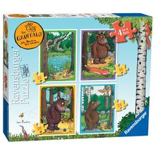 The Gruffalo: The Gruffalo 4 in a Box Puzzles