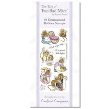Two Bad Mice: Beatrix Potter Stamp Set - Two Bad Mice