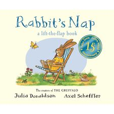 Donaldson and Scheffler: Tales from Acorn Wood: Rabbit's Nap 15th Anniversary Edition (Board Book)