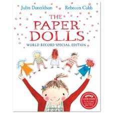 Julia Donaldson: The Paper Dolls - World Record Special Edition (Paperback)