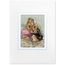 Peter Rabbit: Peter Rabbit and Benjamin Bunny Woven Card