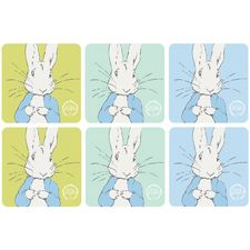 Peter Rabbit: Peter Rabbit Contemporary Coasters (Set of 6)