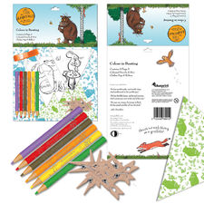 The Gruffalo: Gruffalo Colour In Bunting